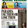 In the February 2 issue of the Irish World