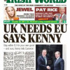 the Irish World March 16