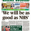 the Irish World March 23 edition