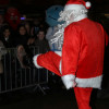 Santa's Irish jig in Levenshulme