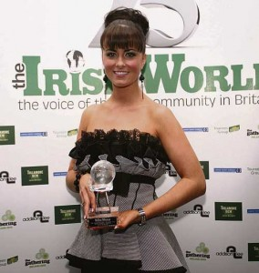 Singer of the Year Lisa McHugh
