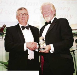 Andy Rogers awarded for Outstanding Service to the Irish Community in Britain