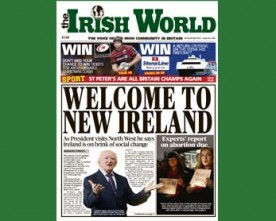 In the Irish World November 24 – President Michael D Higgins on a changing Ireland