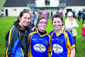 Parnells' Bernie Durkan, Nikki Gilmore and Renee Murphy are all smiles