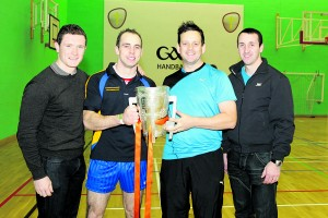 Left to right: Paul Murphy, Bryan Smyth, Niall McCann and Eoin Larkin pictured at St.Paul's Academy