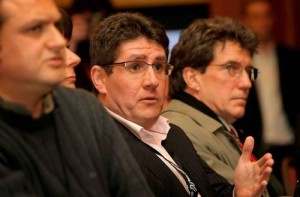 Irish cycling journalist Paul Kimmage