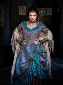 Charlene McKenna as Rose in Ripper Street which airs December 30