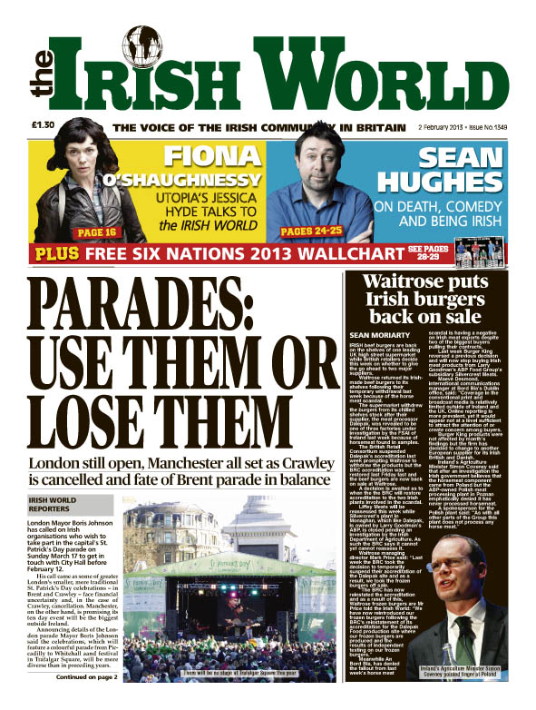 the Irish World 2 February 2013
