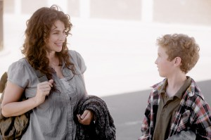 Jennifer directs her young lead actor