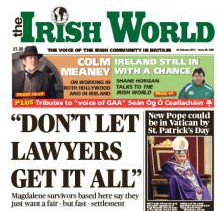 In the February 23 Irish World: