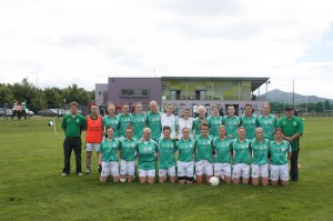 The London women's side who must travel to Ireland again this week-end and then again for another fixture