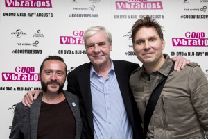 Good Vibrations Producer Chris Martin, Terri Hooley and Snow Patrol's Jonny Quinn (executive producer)