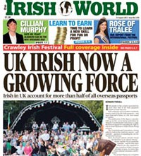 In the August 31 edition of The Irish World