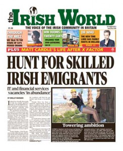 Irish World 10 August 2013
