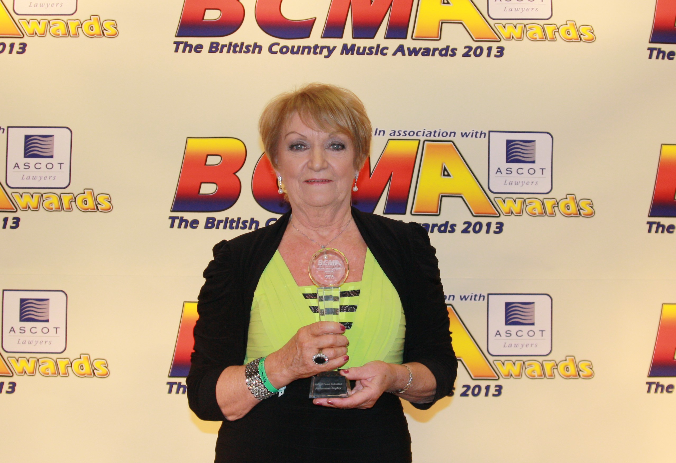 Philomena makes history at British Country Music Awards