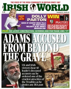 Adams Accused From Beyond the Grave
