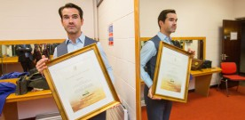 Comedian Carr gets Irish Heritage cert
