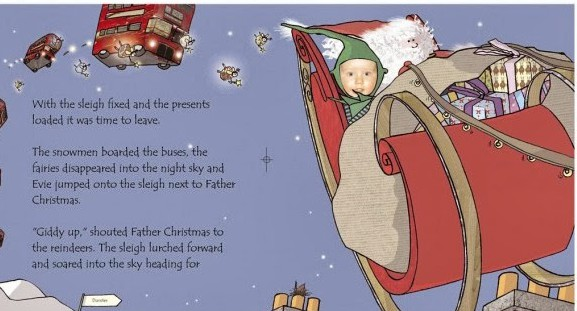 Website offers free personalised Xmas e-book for kids