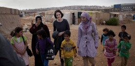 Downton Abbey star launches Syria appeal