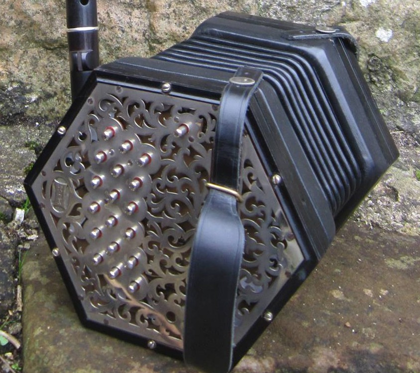 Concertina player makes appeal for help