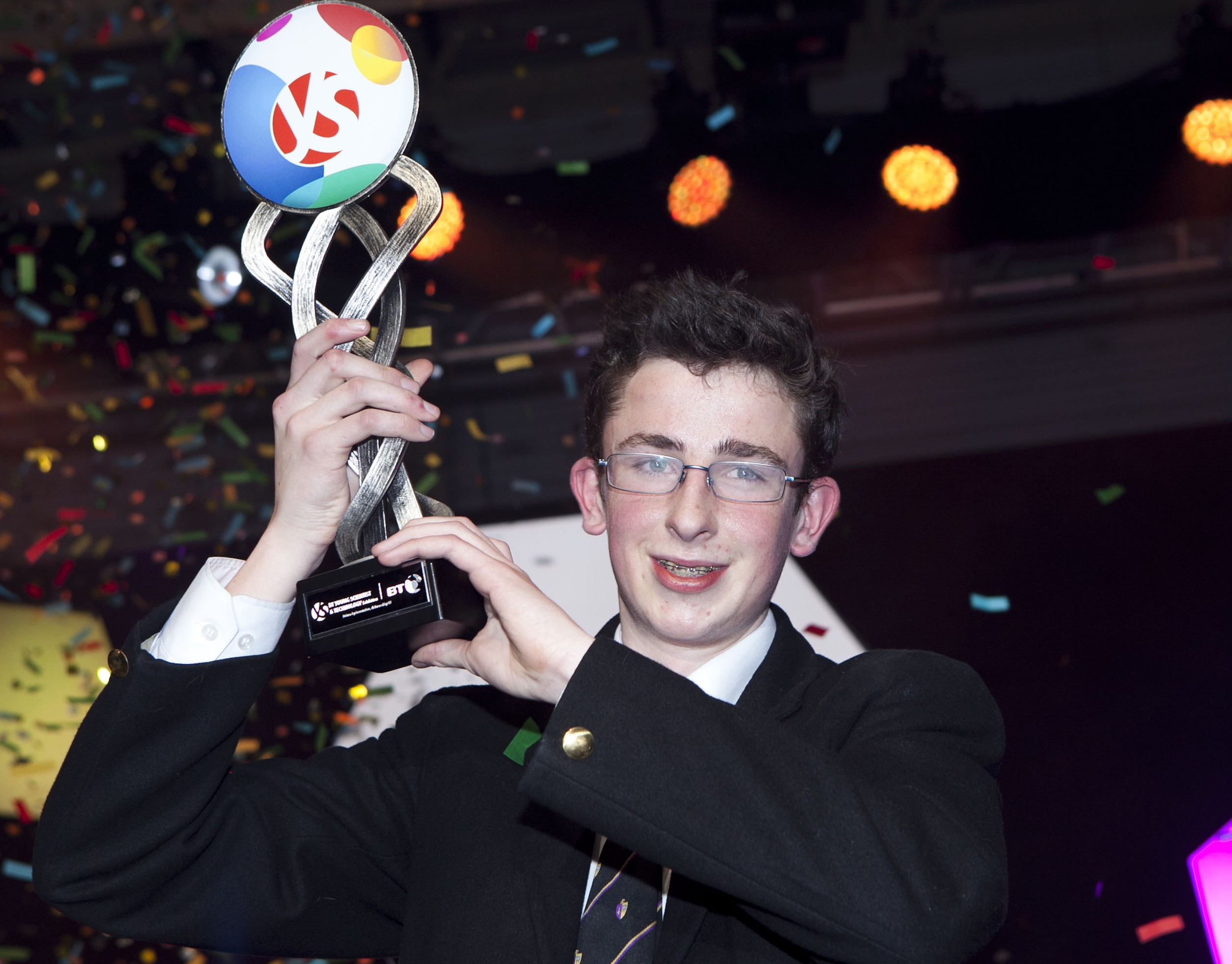 Bright spark Paul named Young Scientist of Year