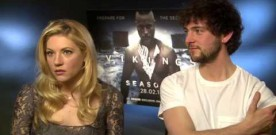 Katheryn Winnick and George Blagden talk Vikings