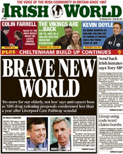 The Irish World February 22 (Issue 1403)
