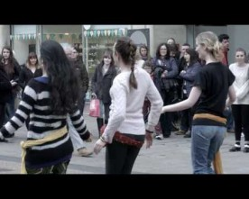 Irish Dance Fusion Flash Mob