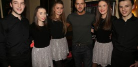 X Factor star helped celebrate Irish Festival