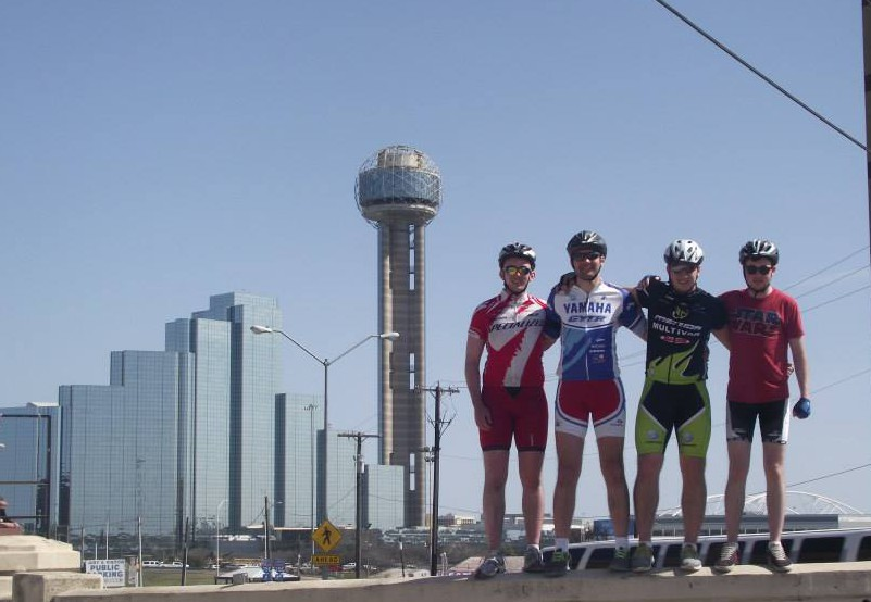 Irishmen brave Texas heat for charity cycle