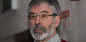 Gerry Adams says he can meet PSNI to talk about McConville