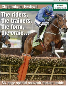 Six page special on this year's Cheltenham Festival in the Irish World