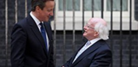 Cameron 'privileged to be PM' at time of improved relations with Ireland