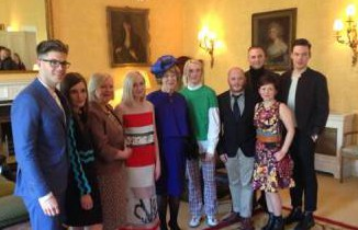 Irish design makes the cut at lunch hosted by Sabina Higgins
