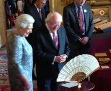 Higgins meets Queen at Windsor Castle
