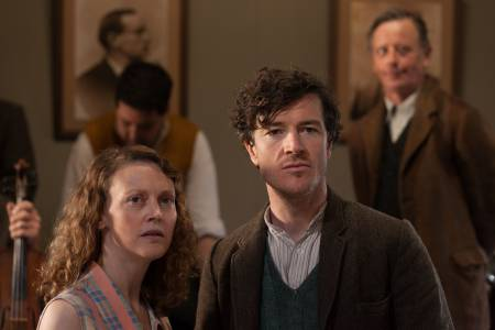 Barry Ward and Simone Kirby play Jimmy Gralton and his love interest, Oonagh