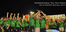 Irish tag rugby goes international