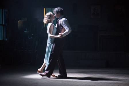 Simone and Barry were required to practising their dancing, as its part in the story was so important