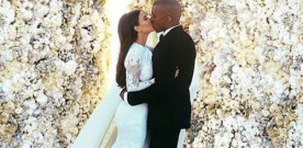Kimye's wedding snap most liked pic on Instagram