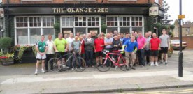 Olsgeire bike ride for Haringey Welfare Fund
