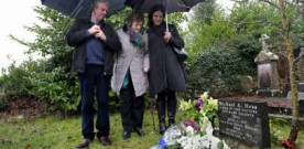 Philomena returns to Roscrea to honour late son
