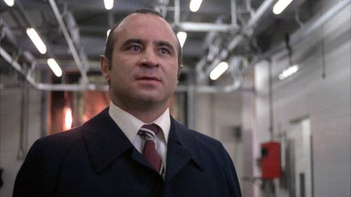 The late Bob Hoskins in a scene from The Long Good Friday