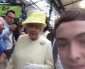 Cheeky Belfast teen snaps selfie with Queen