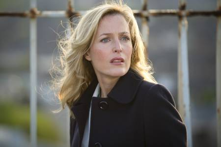 Gillian Anderson stars in The Fall