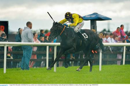 Last year's Galway Handicap Hurdle Missunited storming to victory under Robbie Power