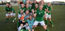 Irish ladies U19s sing Emeli Sande