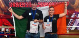 Block takes WAKO kickboxing university silver