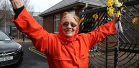 Margaretta D'Arcy released from prison