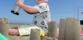 A third of UK children have never made a sandcastle