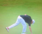 Lowry's tricolour socks on course